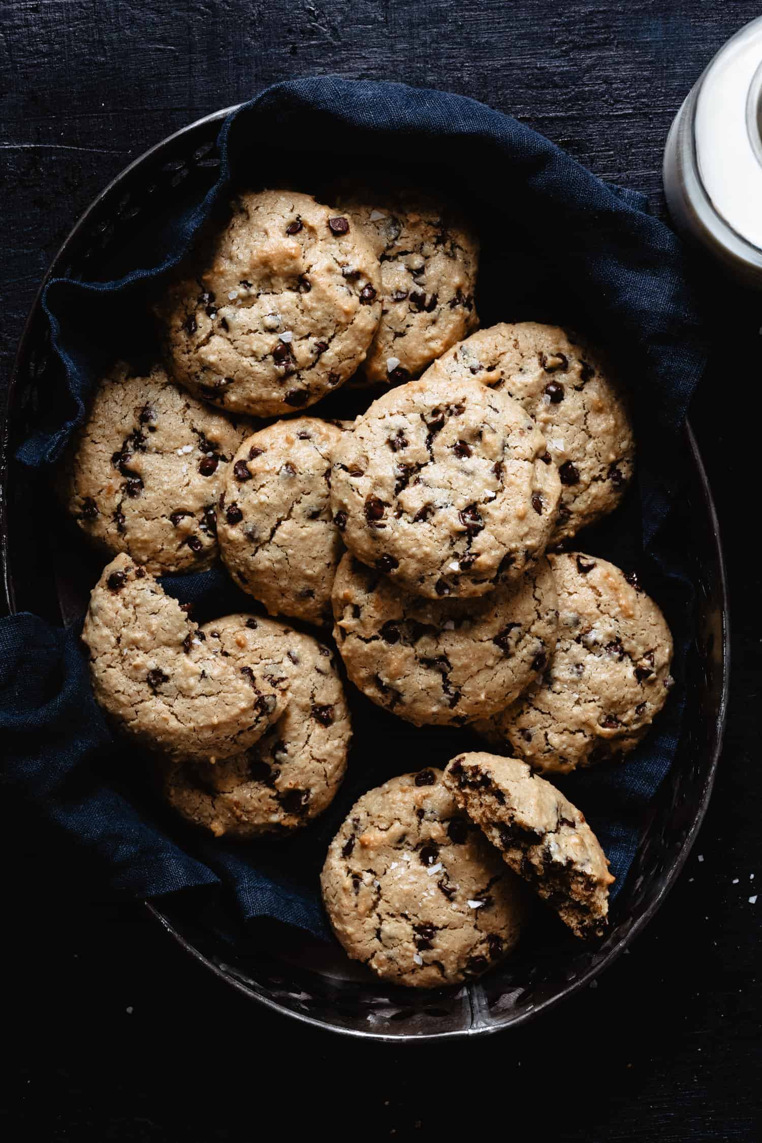 These life changing tahini chocolate chip cookies are the best paleo-friendly, grain-free, and gluten-free cookies around.
