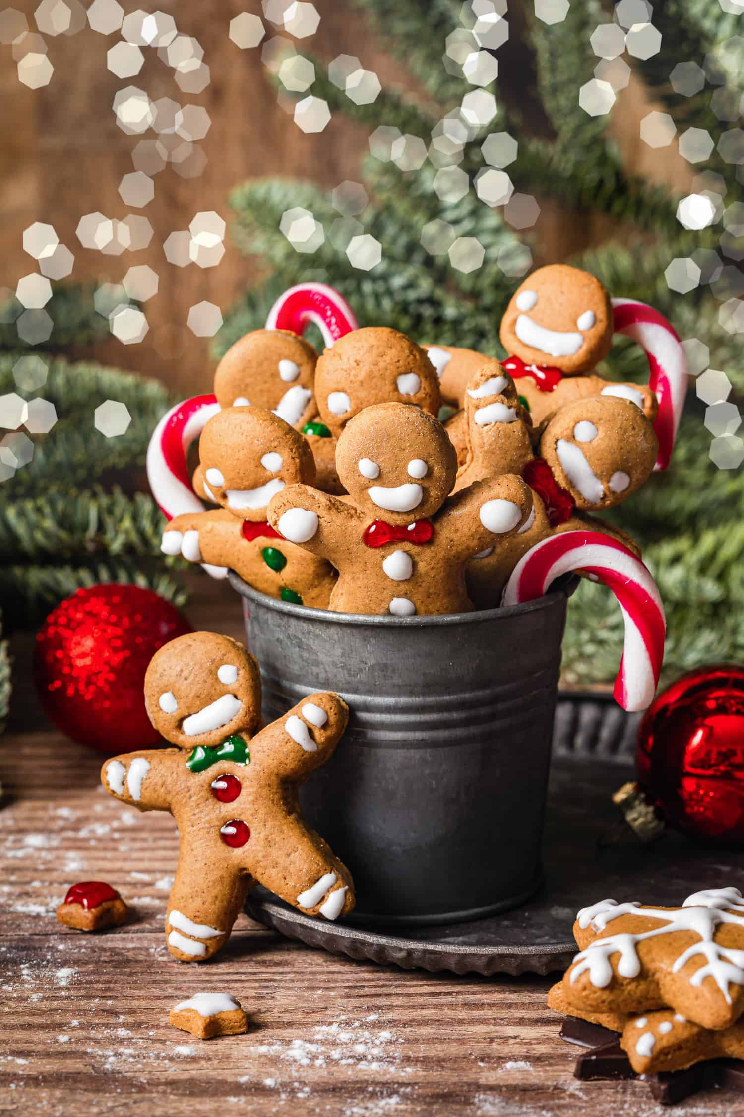 My Favorite Gingerbread Men Cookies | Kalejunkie